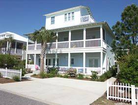 Seagrove Beach Fl house rental - Catch the Wave