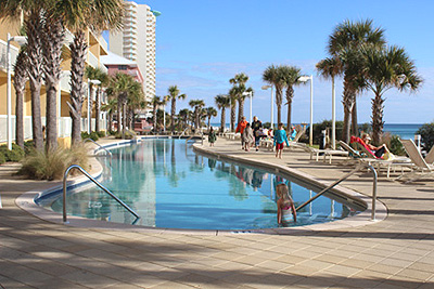 West Side Pool At Calypso Resort And Towers