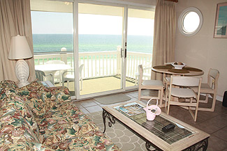 Mistral Condo Unit 20 gulf front vacation rental