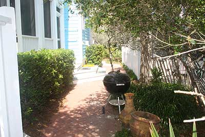 Charcoal grill at Point of View vacation rental