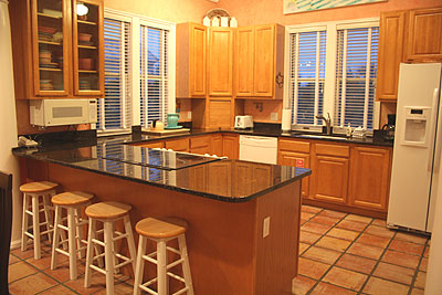interior of Point of View vacation rental